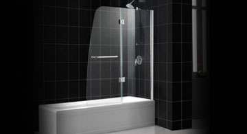 Bathtub shower screen