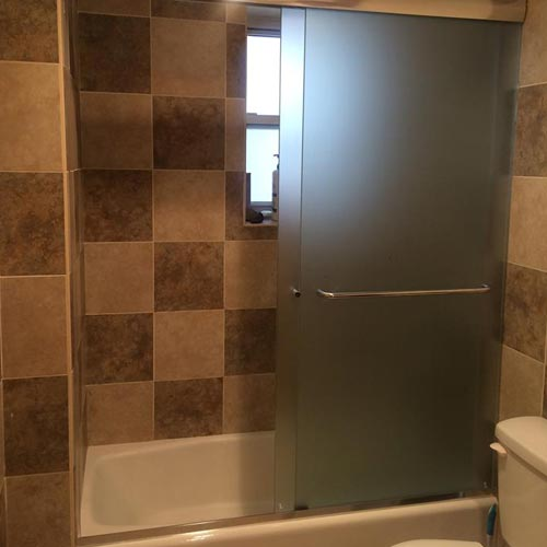 showerdoor installation